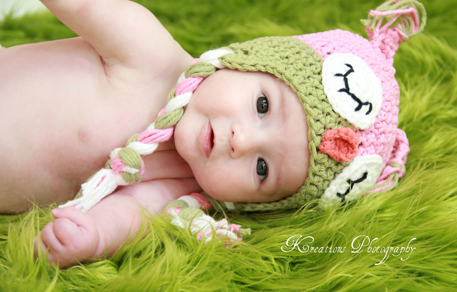 Crochet Sleepy Owl Hat Newborn To Toddler Sizing Photography Prop on Luulla b8615e5f49c0
